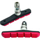 Jagwire Mountain Sport Brake Pads red/black
